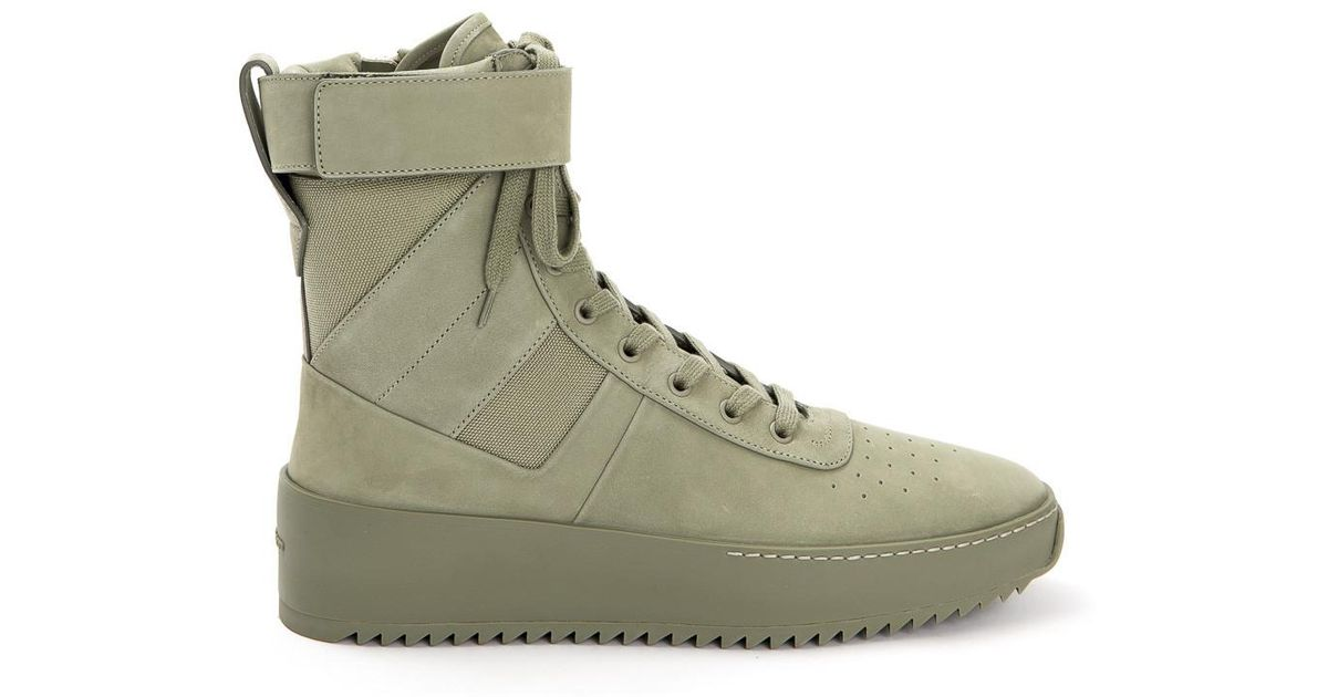 Fear Of God Rubber Army Green Military