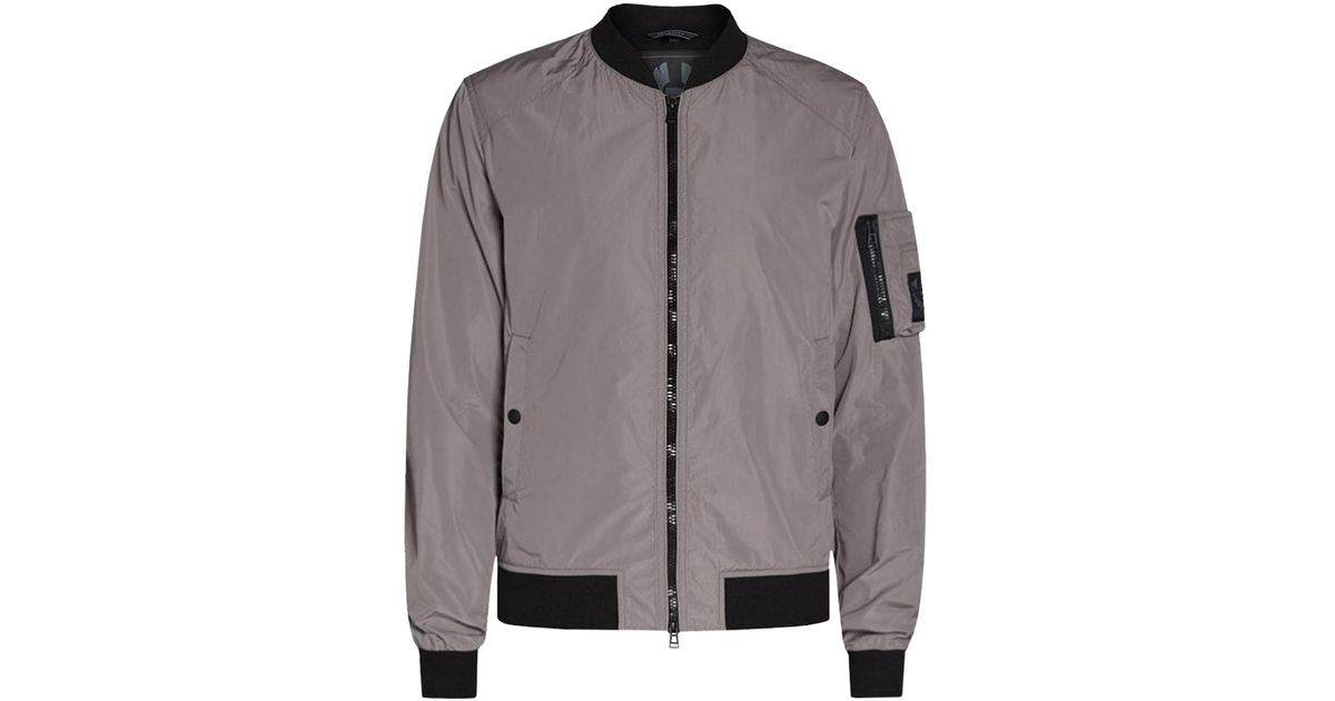 773bc5af6 Belstaff Gray Mallison Reflective Bomber Jacket for men