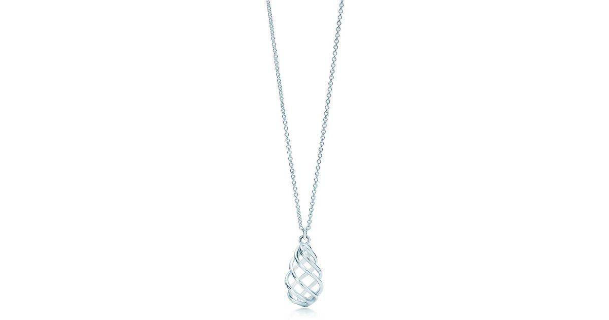 5190a36b7 Tiffany & Co. Luce Pendant in Metallic - Lyst