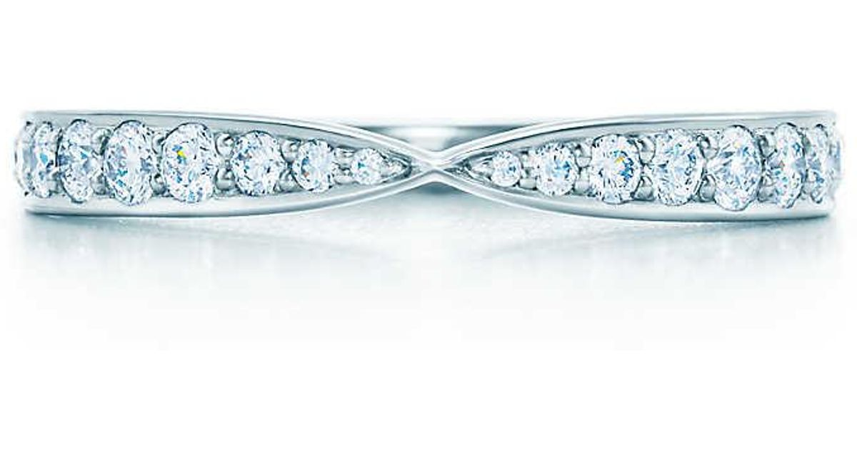 1d38625873b Tiffany   Co. Tiffany Harmony® Bead-set Diamond Ring - Lyst