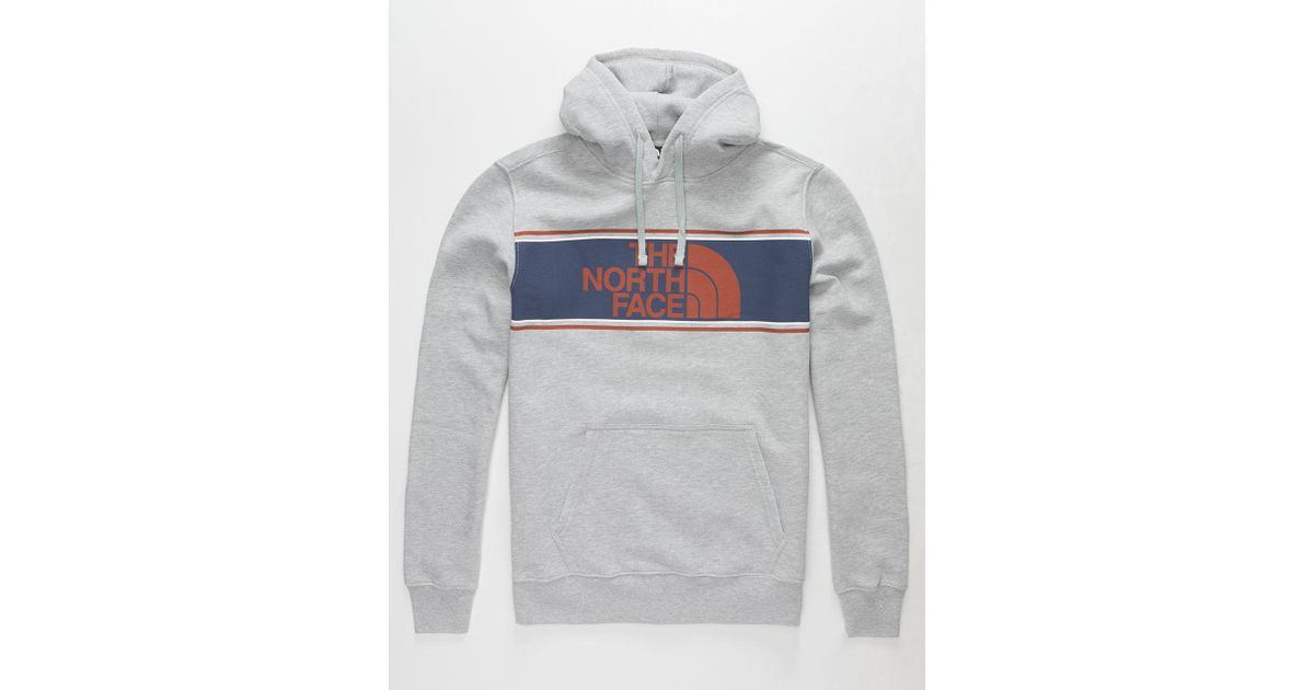 6813b8b09 The North Face Gray Edge To Edge Mens Hoodie for men