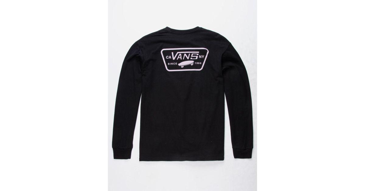 1d4e030b Vans Black Full Patch Back Mens T-shirt for men