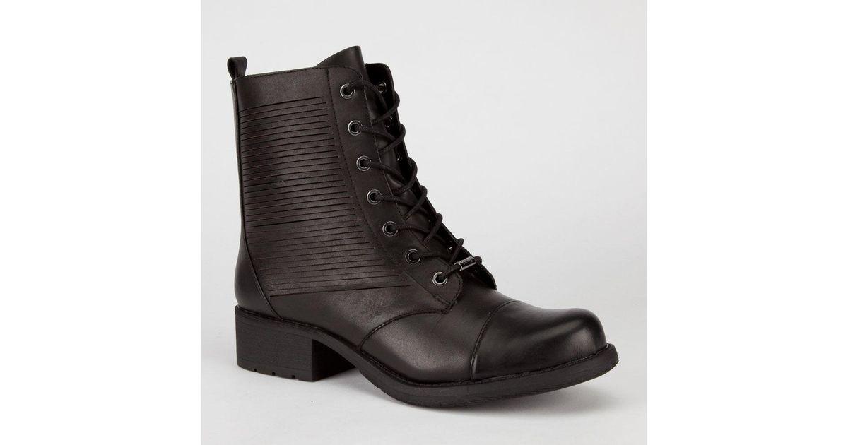 d747451404da27 Lyst - Circus By Sam Edelman Gatson Womens Boots in Black