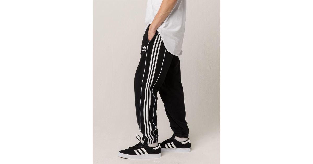 Lyst Adidas Originals Pipe Mens Sweatpants In Black For Men