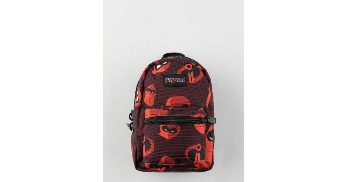 590013bf49b Lyst - Jansport X Disney Pixar Incredibles 2 Family Time Lil  Break Pouch