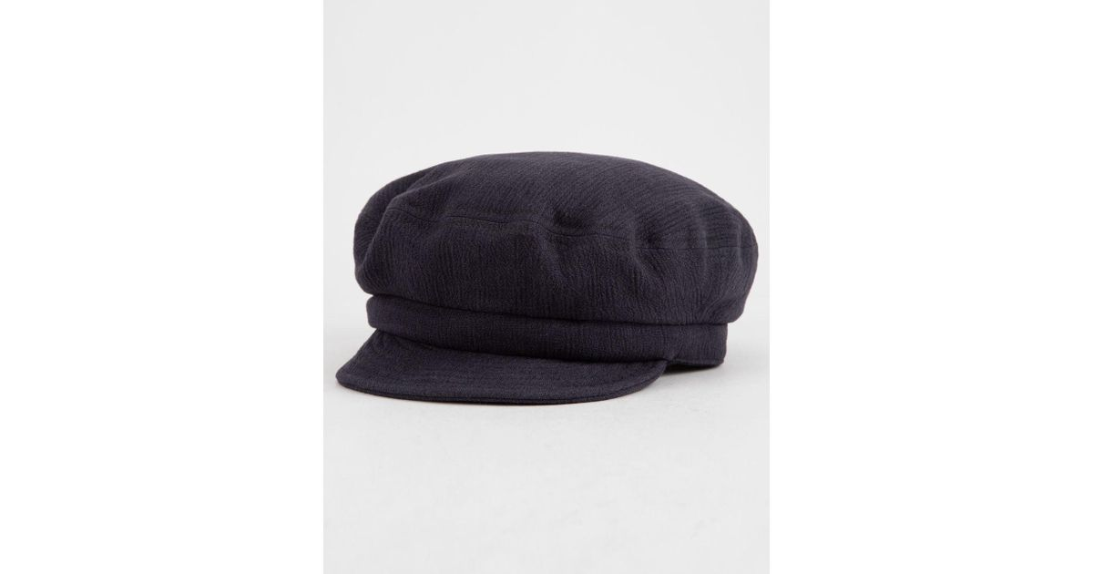 a6ab5b16a00 Lyst - Brixton Fiddler Unstructured Navy Womens Cap in Blue