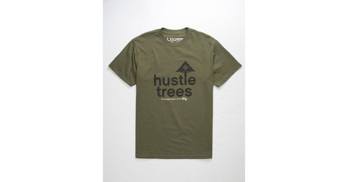 LRG Hustle Trees Mens T-Shirt