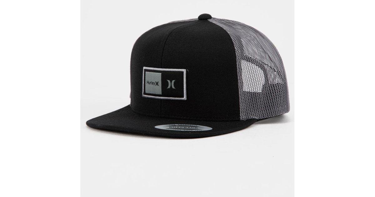 NEW Hurley Locket Mens Trucker Snapback Hat Cap
