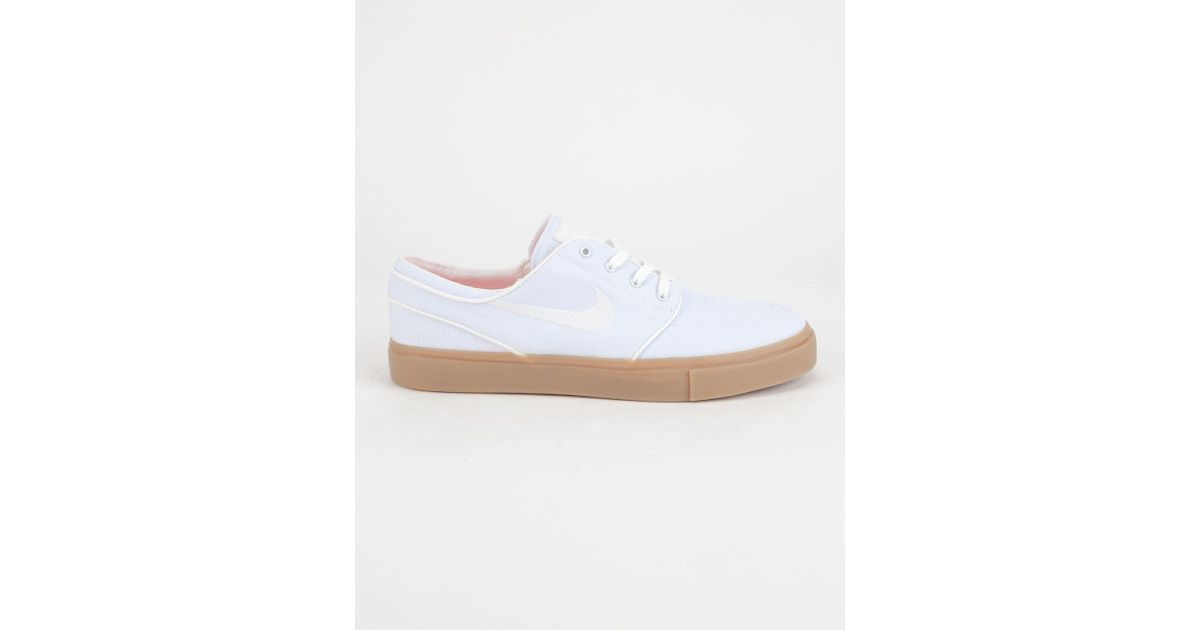 special sales united states super specials Nike White Sb Zoom Stefan Janoski Canvas Womens Shoes