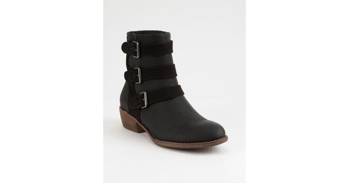 54c855ddaeb52 Lyst - Roxy Beckett Womens Boots in Black - Save 9%