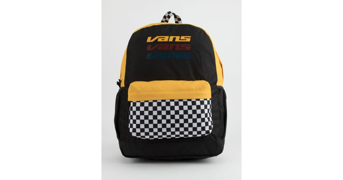 Vans Sporty Realm Plus Black Trifecta Backpack