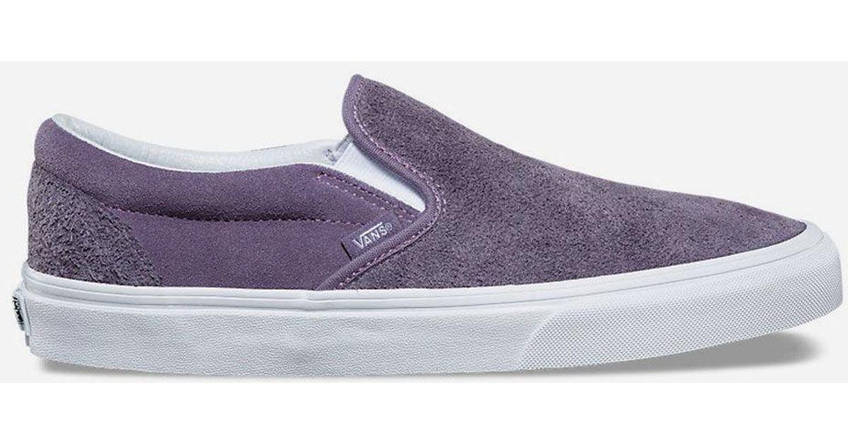 Vans Hairy Suede Classic Slip-on Purple
