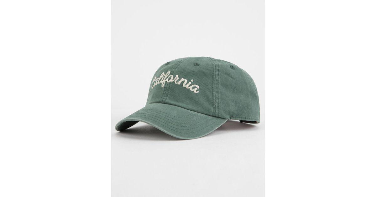 Lyst - American Needle California Dad Hat in Green 6146e9396dd