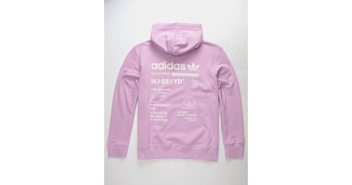 Purple Hoodie Oth Mens Adidas For Kaval Lilac Men OnmN0wv8