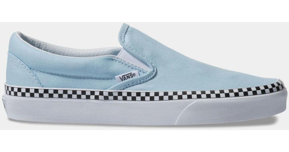 Check Foxing Classic Slip-on Cool Blue