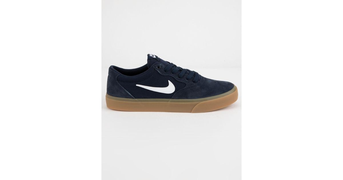 sports shoes 88d4a 5eb63 Nike Chron Slr Obsidian   White Mens Shoes in Blue for Men - Lyst
