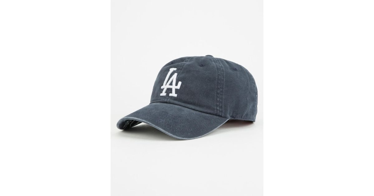 LOS ANGELES LA KINGS DADHAT CAP AMERICAN NEEDLE BLUE LINE WASHED COTTON HAT