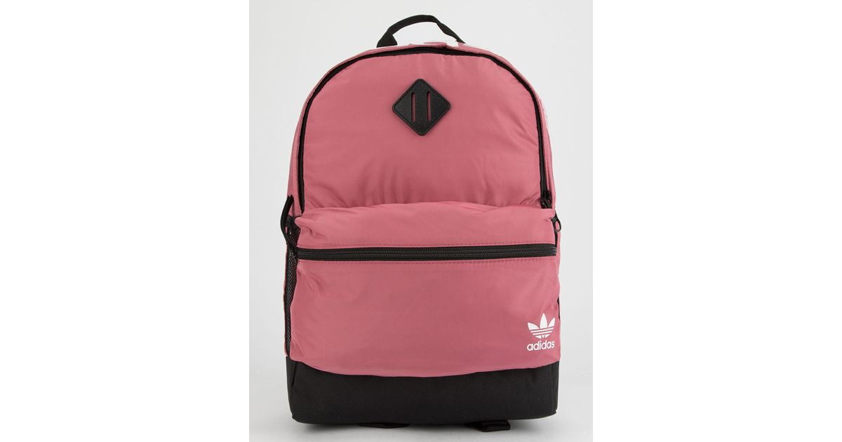 3a2b1f6cbcff adidas Originals National Pink Backpack in Pink - Lyst