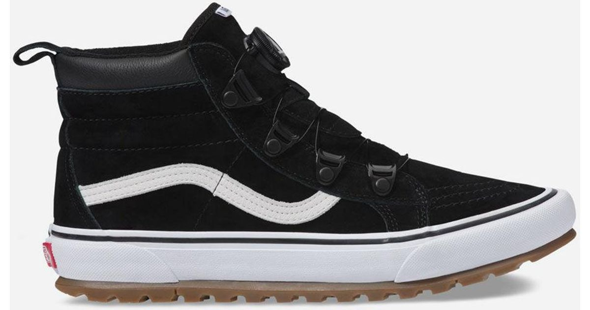 Vans Sk8-hi Mte Boa Black & True White Shoes for men