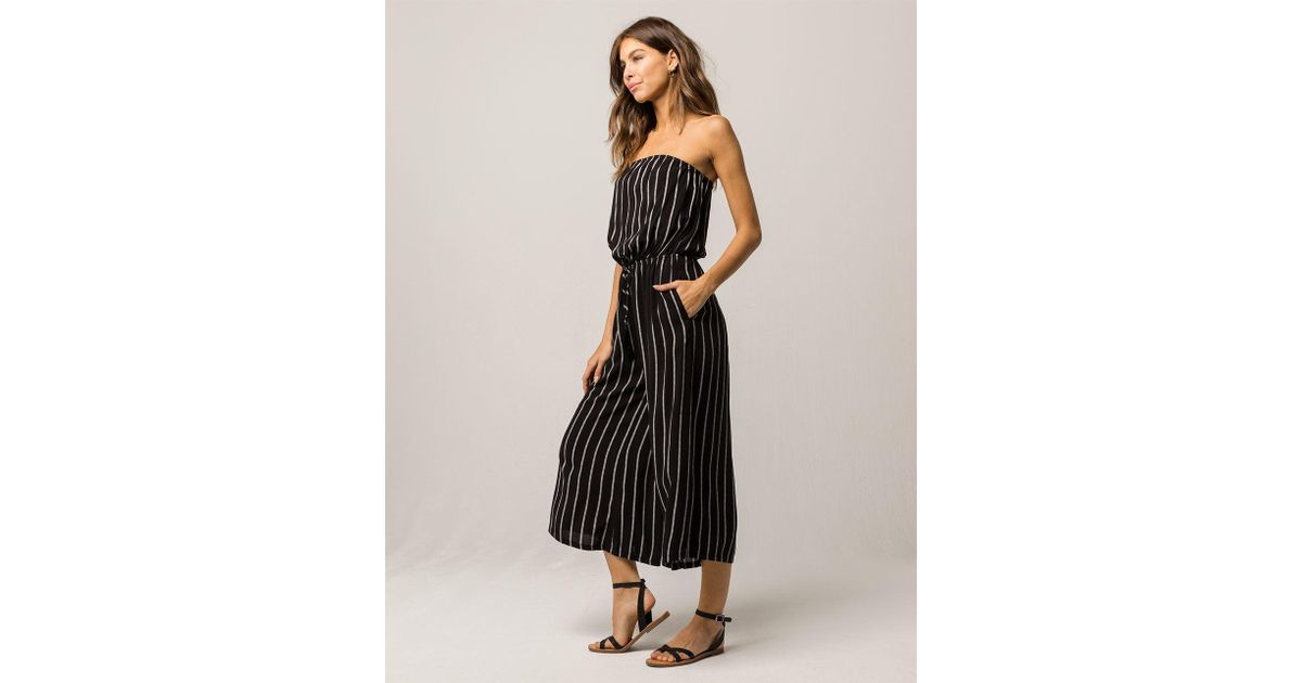 Mimi Black Strapless Cocktail Dress