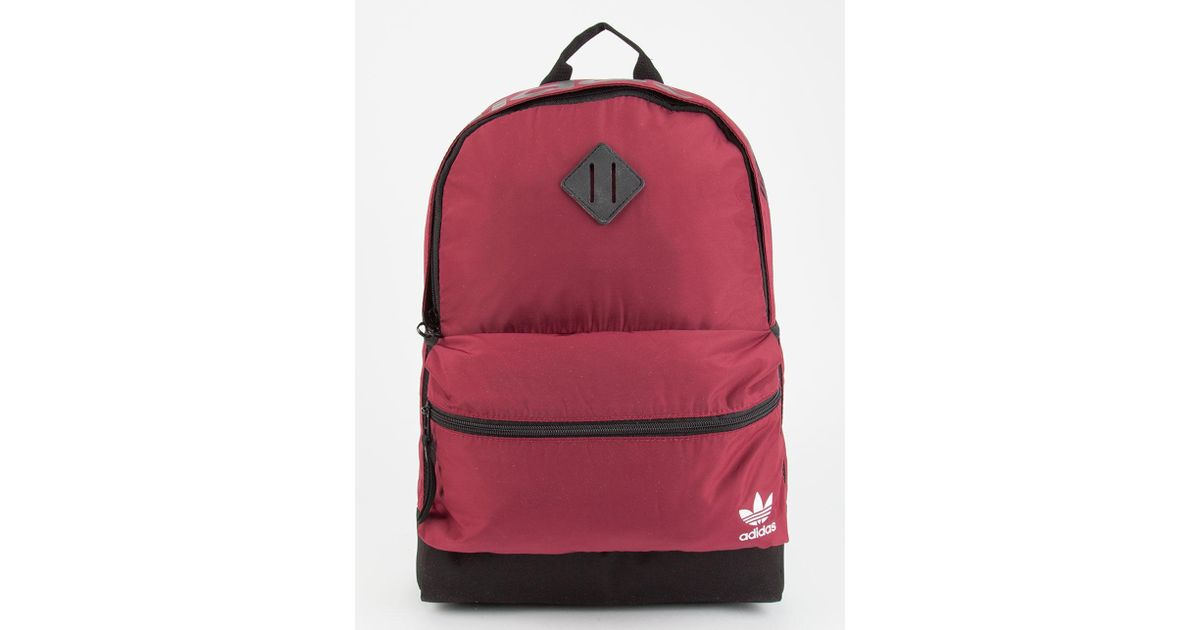 Lyst - adidas Originals National Backpack in Red for Men 4bfcc1a57d2e6