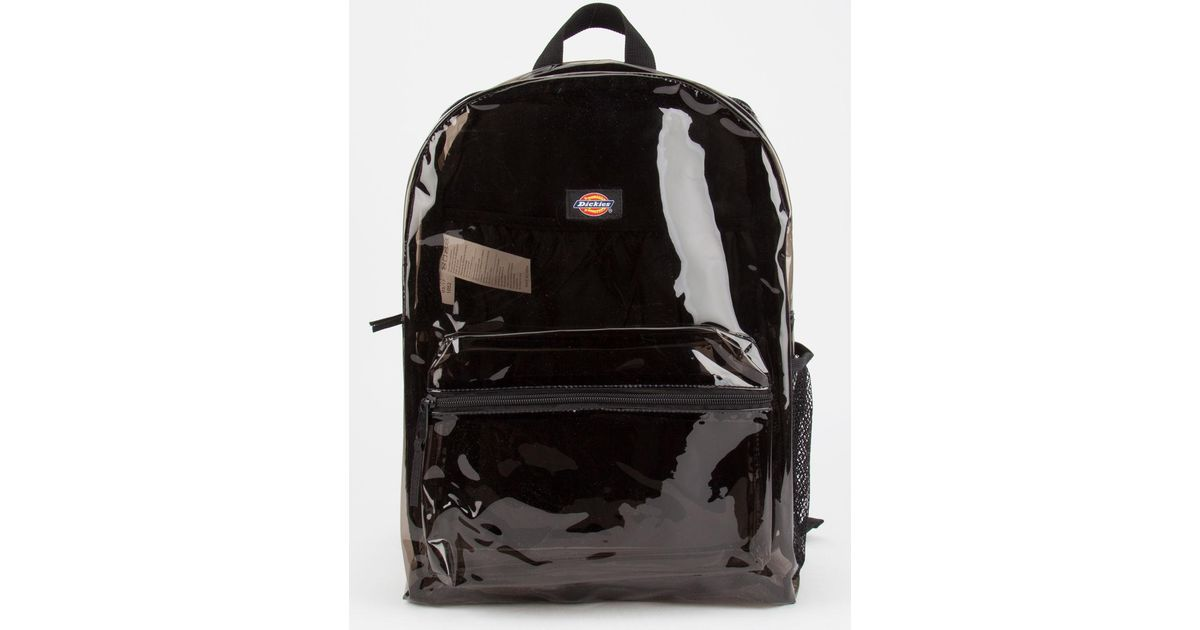 2dd397a41 Dickies Clear Student Backpack in Black - Lyst