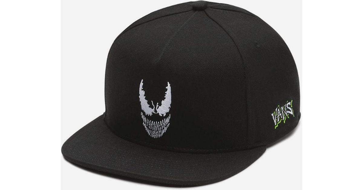 3fd801f29b46a Vans X Marvel Venom Mens Snapback Hat in Black for Men - Lyst