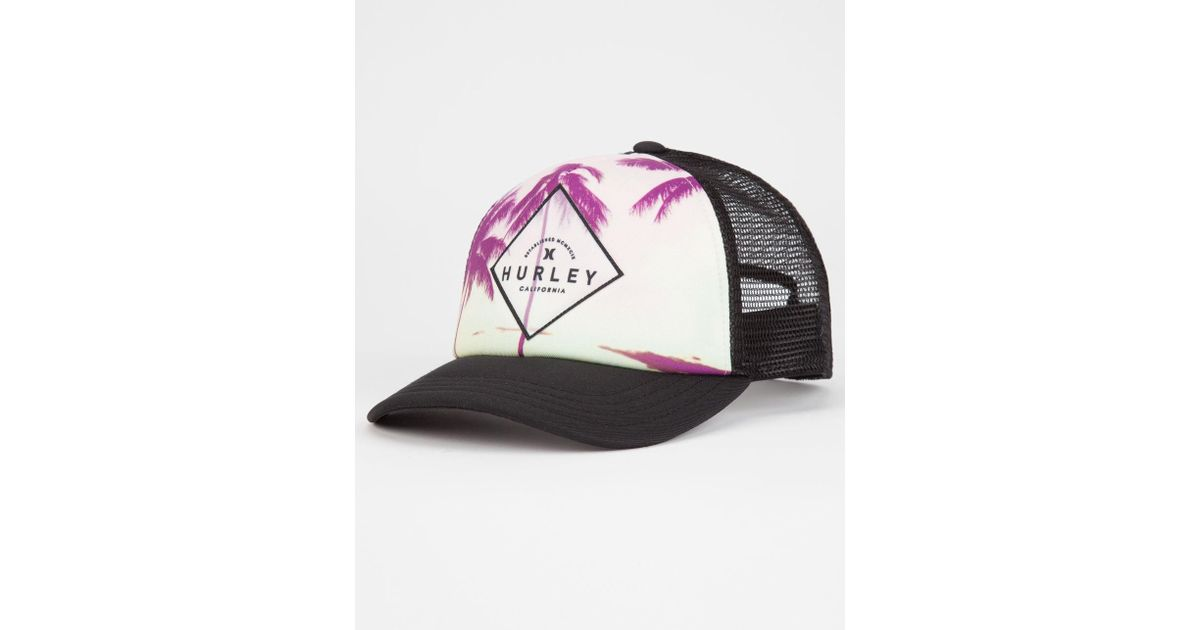 f5298bb3a Hurley Black Goldenwest Womens Trucker Hat