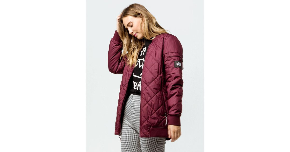 af4968717 The North Face Red Jester Reversible Womens Bomber Jacket