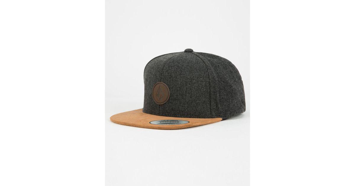 Lyst - Volcom Quarter Fabric Mens Snapback Hat for Men 1ffb7d8d2a80