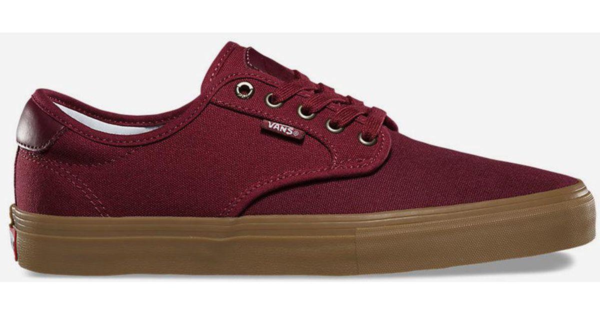 Lyst In Shoes Gum Pro Vans Red Ferguson Chima Mens Cabernet Port amp; wwUrZ