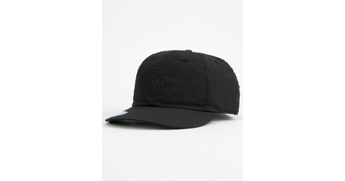 5c15e73a04 Adidas Originals Relaxed Repeat Black Mens Strapback Hat for men