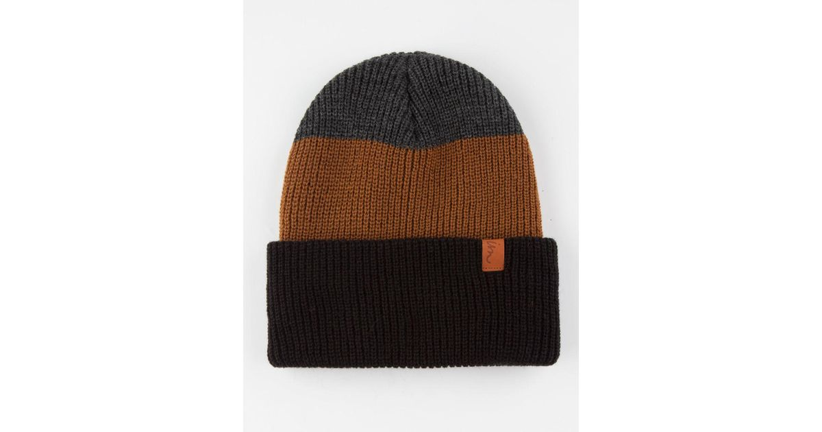 bdb49881a73 Lyst - Imperial Motion Div Beanie in Black for Men