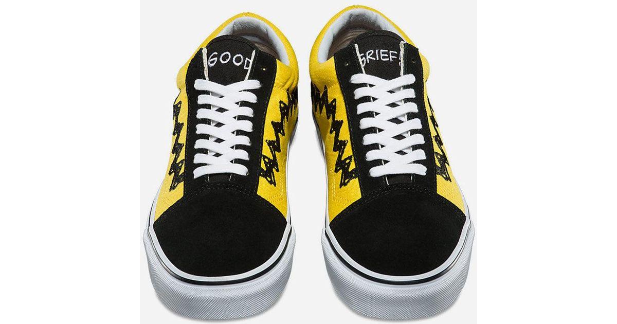 Vans Rubber X Peanuts Old Skool Shoes