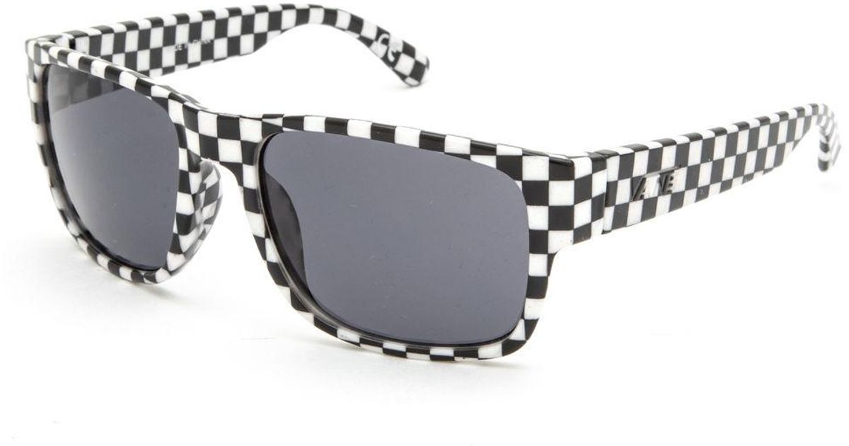 For Darr Checkered Sunglasses Vans Wrap Multicolor Men 4A35jRL