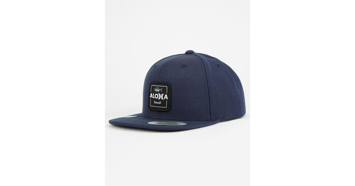 Lyst - Hurley Aloha Cruiser Mens Snapback Hat in Blue for Men 740a49c0d341