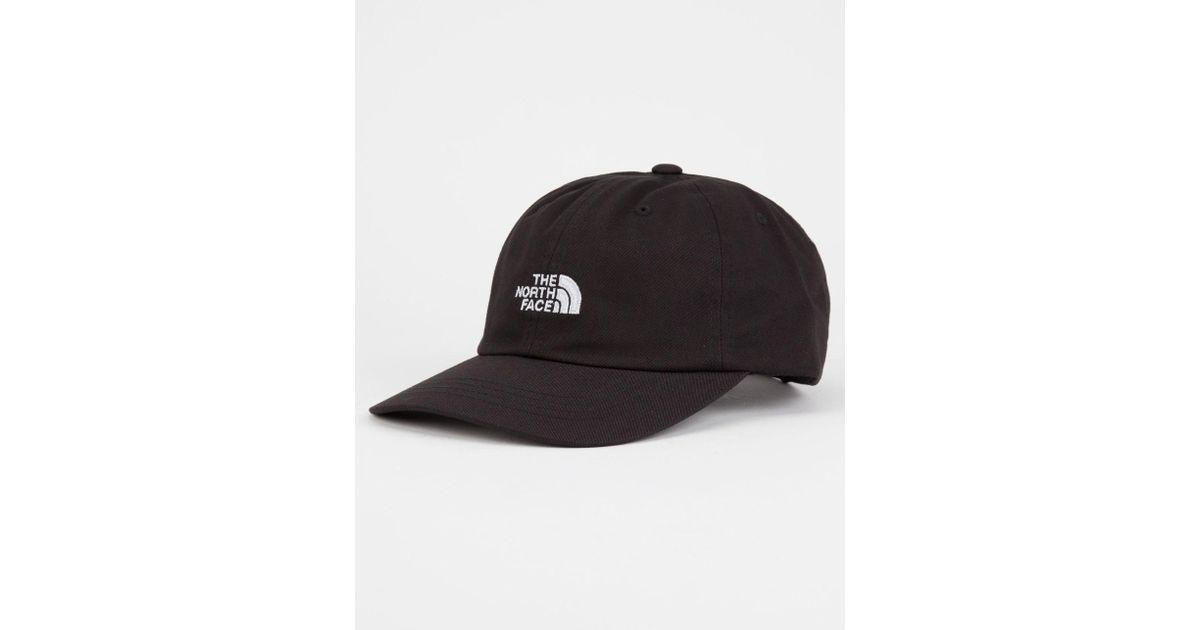 Lyst - The North Face The Norm Dad Hat in Black for Men 92494284ed7