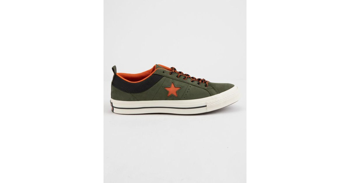 9566e9a2c67054 Lyst - Converse One Star Ox Sierra Low Top Shoes in Green