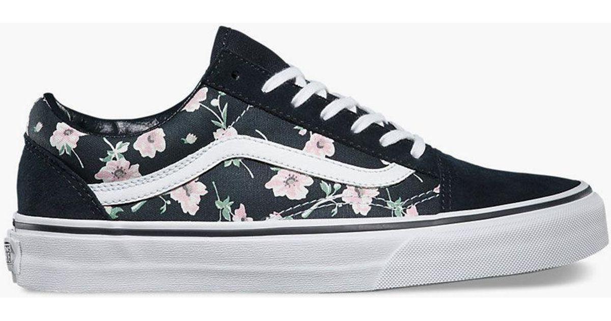 Vans Old Skool chaussures vintage floral