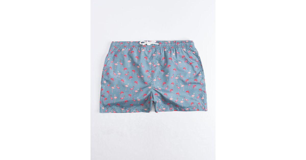 d7a57d99c0f23 Lyst - Jack   Jones Flamingo Mens Volley Shorts in Blue for Men