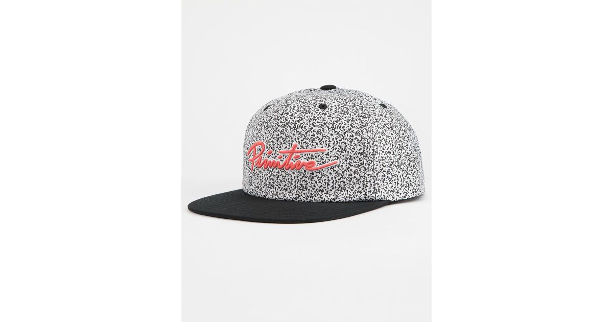 15c72022636 Lyst - Primitive Channel Zero Mens Snapback Hat in Black for Men