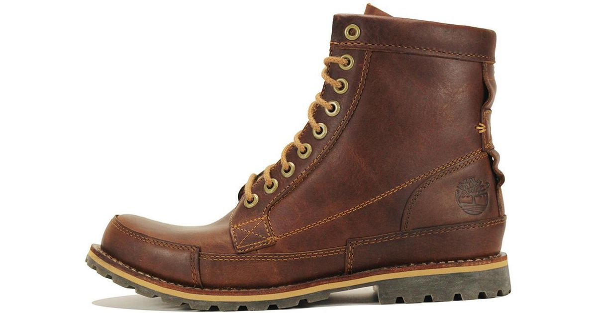 e230ecd9560 Timberland Earthkeepers Original Leather 6-inch Brown Boot for men