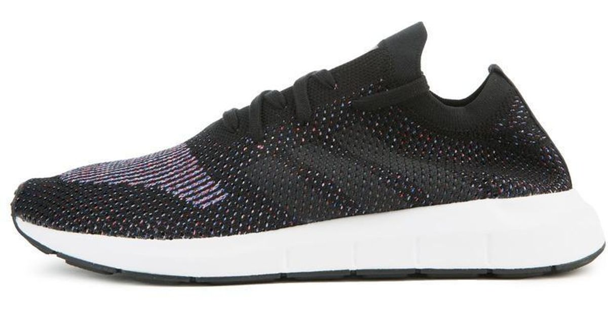 1b17a773e Lyst - adidas The Swift Run Pk In Black And Grey in Black for Men