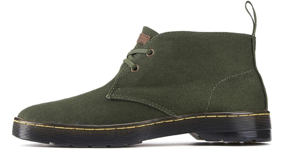 Dr. Martens Canvas Mayport Forest Green