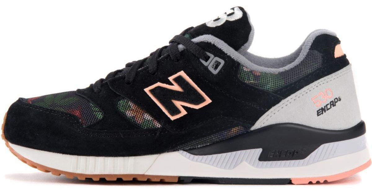 New Balance 530 Floral Ink Black Running Shoes for men