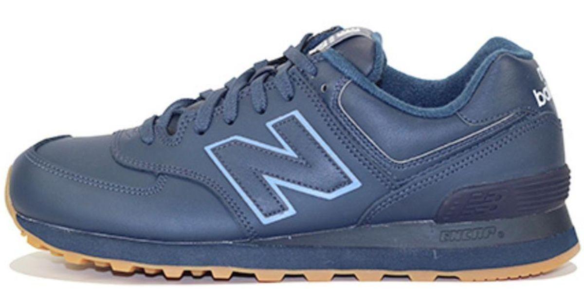 new balance 574 classic navy