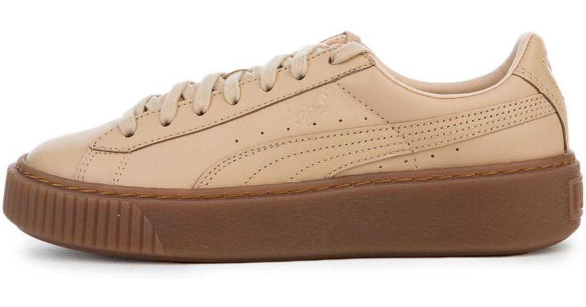 927af4c8f077 Lyst - PUMA X Naturel Platform Veg Tan Sneaker in Natural