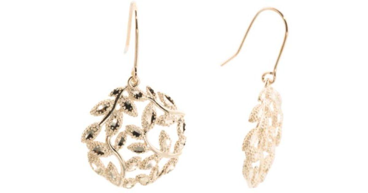 Tj Ma Metallic Made In Spain 14k Gold Spanish Earrings