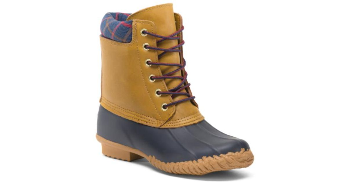 6ea1e948321 Tj Maxx - Blue Roger Cold Weather Duck Boots for Men - Lyst