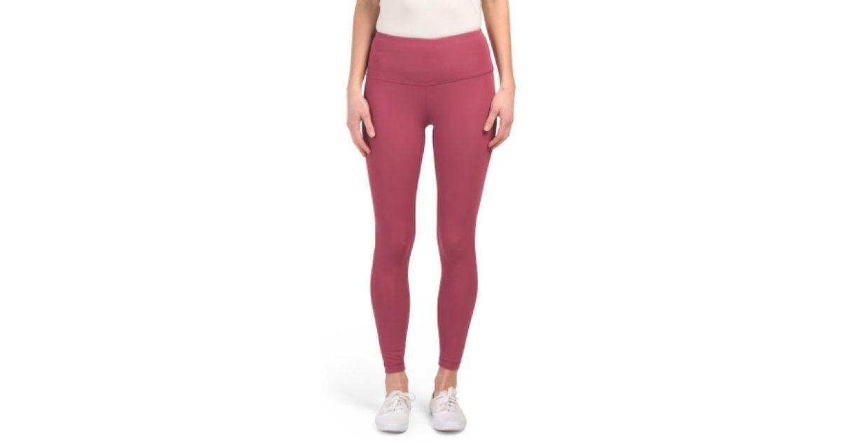 094bd40942327b Lyst - Tj Maxx Nude Tech High Rise Leggings in Pink
